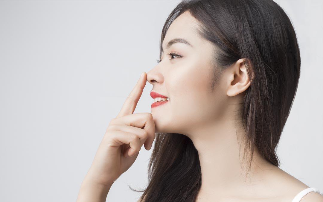 رفع قوز بینی با نخ راههای از بین بردن قوز بینی با نخ Asian Nose Job Toronto