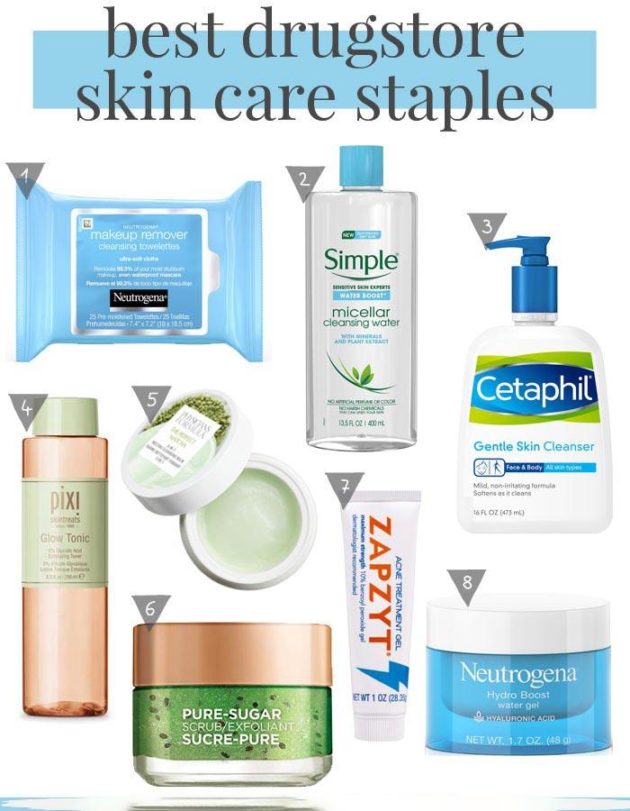 بهترین کرم های درمان جای جوش بهترین کرم های درمان جای جوش بهترین کرم های درمان جای جوش best drugstore skin care products staples 1